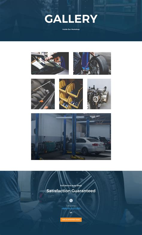 elegant themes gallery page get a free professional divi auto repair layout pack
