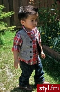 japanese little boy haircuts dziecko ubranka