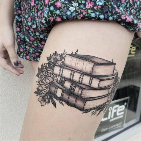 dark matter tattoo awe inspiring book tattoos for literature kickass
