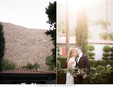 Palm Springs Modern Inspiration Wedding   Avalon Hotel