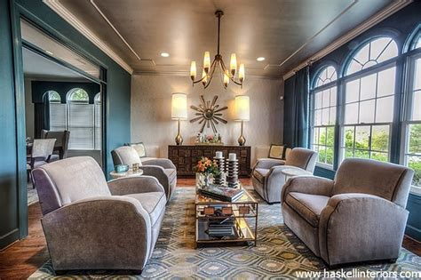 1930 s inspired lounge transitional living room