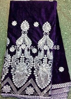 velvet lace fabric 100 fashion african clothing 6 yards super wax latest fashion beauty design african velvet lace fabric