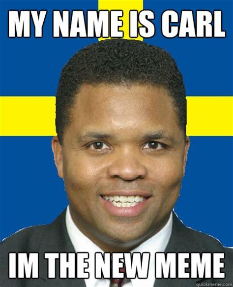 Swedish Meme - my name is carl im the nigga who stole your bike swedish carl quickmeme