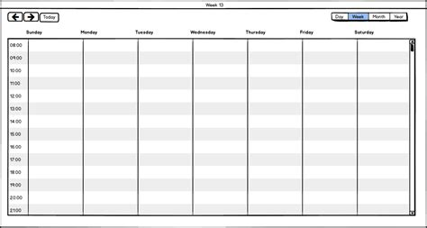 week by week planner template week calendar yearly calendar template