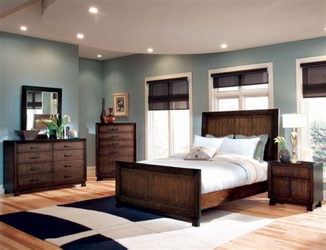 bedroom color schemes with brown furniture master bedroom decorating ideas blue and brown bedroom