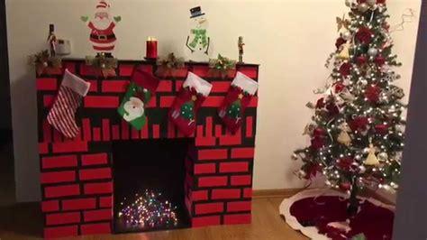 imagenes navideñas rusticas como hacer chimeneas navide 241 as en icopor decoradas