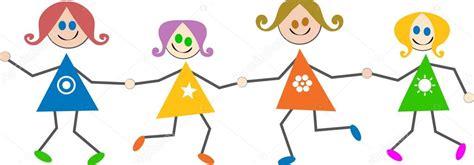 imagenes de niños alegres en caricatura ni 241 os felices caricaturas vector de stock 64293149