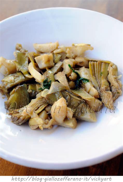 ricette per cucinare le seppie seppie con carciofi ricetta siciliana arte in cucina
