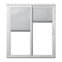 vinyl sliding patio door reviews shop jeld wen 71 5000 in blinds between the glass white