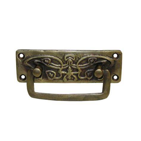 unlacquered brass cabinet hardware gado gado bail pulls 3 1 8 inch center to center