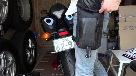 Leg Bag Komine Sa 211 めざせ r1ライダー コミネ sa 211 waterproof leg bagを買ってみた