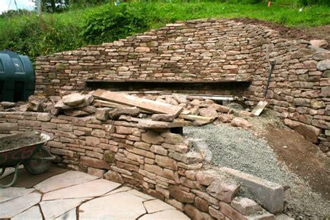 retaining wall garden design retaining wall copper beech garden design hereford