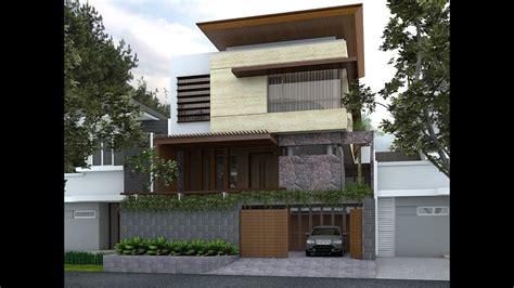 design house facade online sketchup house facade design 2 vray 3 4 youtube