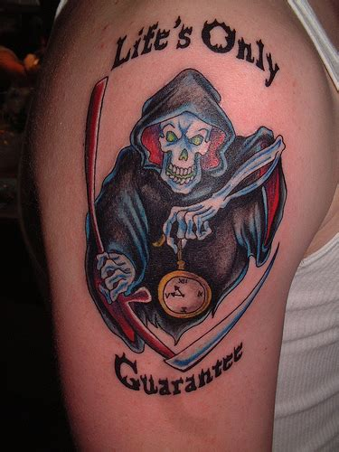 reaper tattoos for men grim reaper tattoos