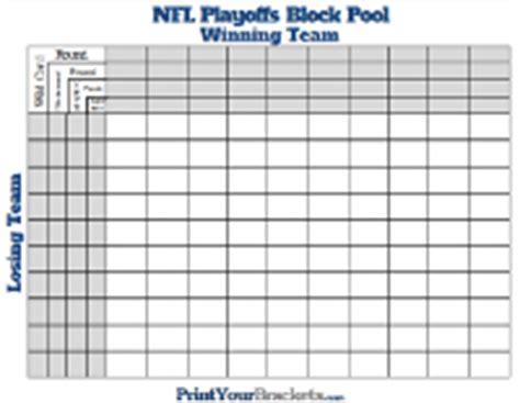 Office Football Pool Brackets Football Pools Printable Nfl Ncaa Office Pools