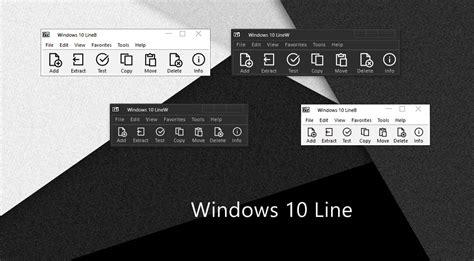 themes for windows 7 zip windows 10 line 7 zip theme by alexgal23 on deviantart