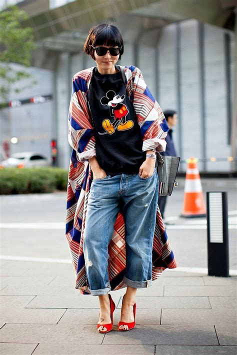 Daster Mickey japanese style mickey mouse baggy
