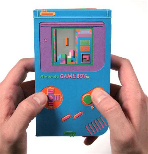 How To Make A Paper Psp - paper le retro gaming en une boy et sa