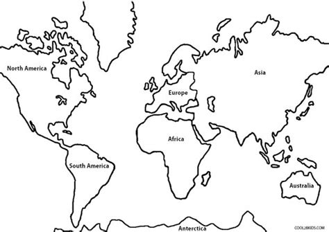 easy printable world map get this free simple world map coloring pages for children
