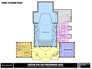 Bb T Center Floor Plan Francis Marion University Performing Arts Center