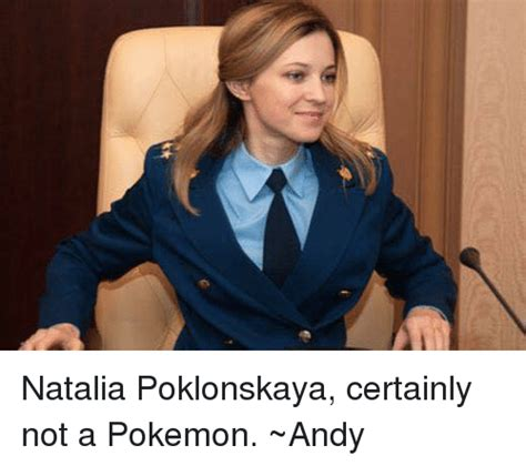 Natalia Poklonskaya Meme - 25 best memes about natalia poklonskaya natalia