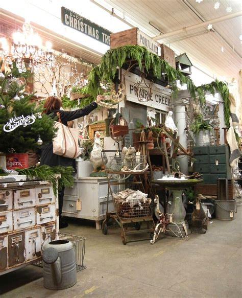 xmas antique booths into vintage vintage with a pinch of kitsch and glitter