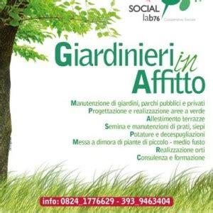 giardiniere in affitto giardinieri in affitto l iniziativa di social lab