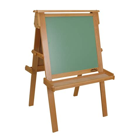 childrens easel rolfes 174 childrens dual easel natural wood