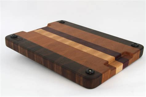 Handcrafted Wood Cutting Boards - handcrafted wood cutting board end grain walnut maple