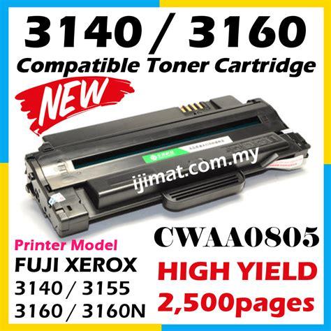 Toner Fuji Xerox Compatible P205bp105bp215bm205bm20 Murah compatible laser toner cartridge fuji xerox phaser 3160 phaser 3160n phaser 3155 phaser