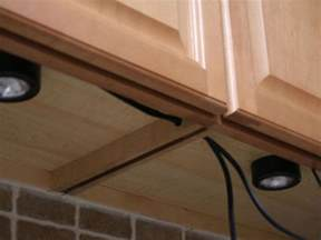 How To Install Lights Kitchen Cabinets Installing Cabinet Lighting Hgtv