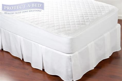 Cotton Quilted Mattress Protector by Protect A Bed Quiltguard Cotton Quilted Mattress Protector