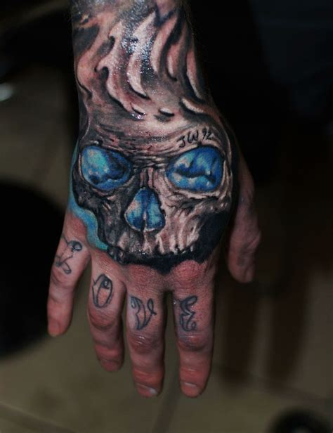 freehand tattoo freehand skull hammersmithtattoo