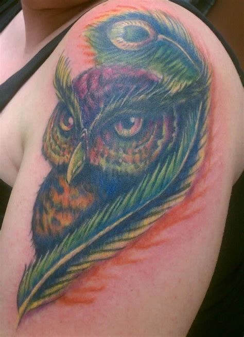 amazing tattoo cover ups owl cover up amazing tattoos