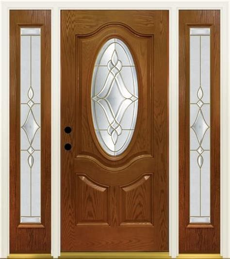 Mastercraft Luminance 36 Quot X 80 Quot Text Fiberglass Door W Menards Exterior Doors