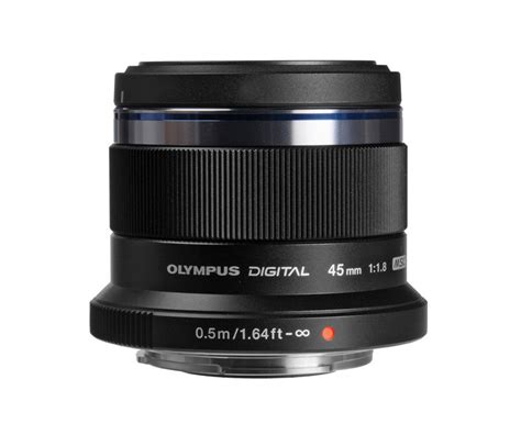 Olympus 45mm F1 8 Lens olympus m zuiko digital 45mm f 1 8 lens black