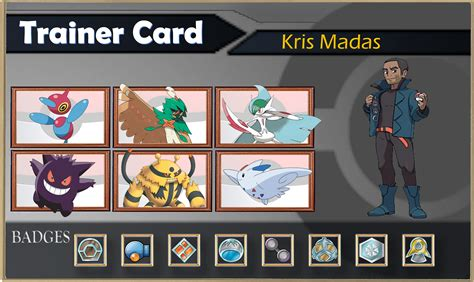 make a trainer card yesterday i was inspired to make my own custom trainer