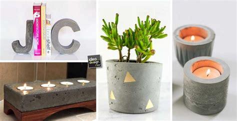 oggetti per la casa fai da te oggetti d arredo fai da te utilizzando il cemento 15