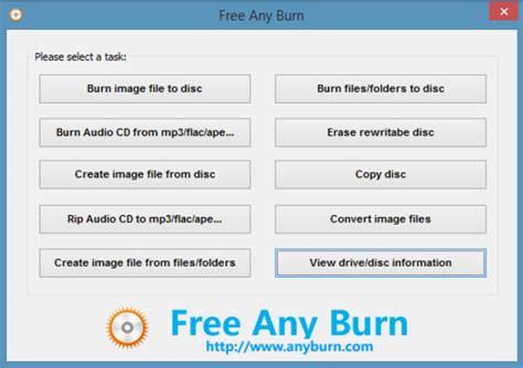format cd si yazma anyburn indir 4 1 cd dvd bluray yazma full program indir