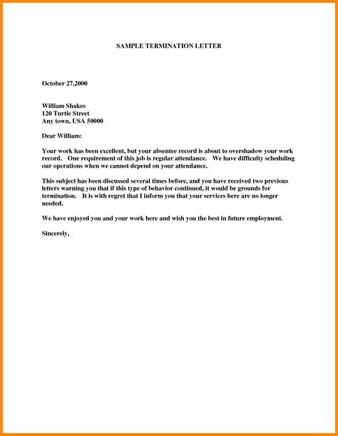 Termination Letter Format Due To Financial Crisis 7 Cancellation Of Services Letter Resumed