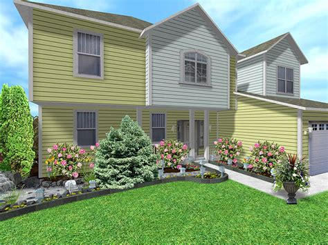 landscaping ideas front of house landscape design software gallery page 4