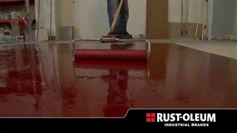 Rust Oleum® Industrial  Heavy Metal Decorative Floor