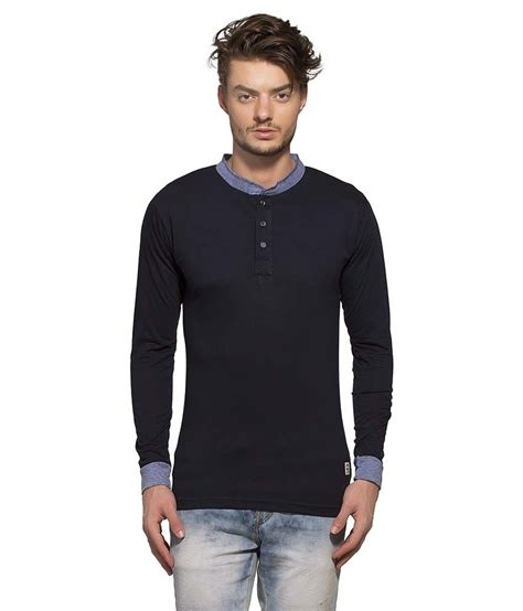 T Shirt Aoe 29 Bv alan jones clothing navy henley t shirt buy alan jones clothing navy henley t shirt at