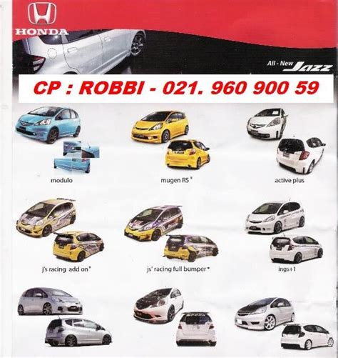 selamat datang di indomegah jaya auto pusat bodykit aksesoris mobil honda indonesia jual