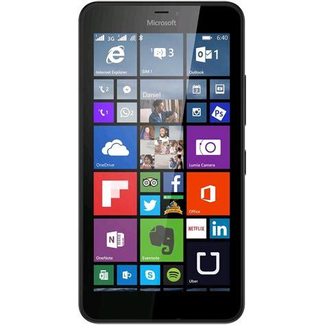 Hp Nokia Lumia 640 Lte Microsoft Lumia 640 Lte 8gb Black Expansys Uk