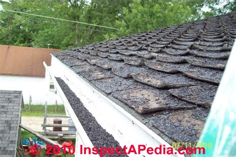 looking up at roof shingles fishmouthed roof shingle fail c daniel friedman