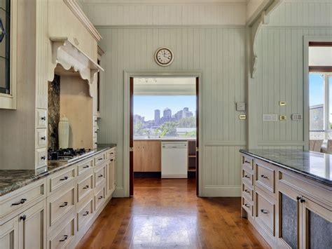 country galley kitchen country galley kitchen design using floorboards kitchen