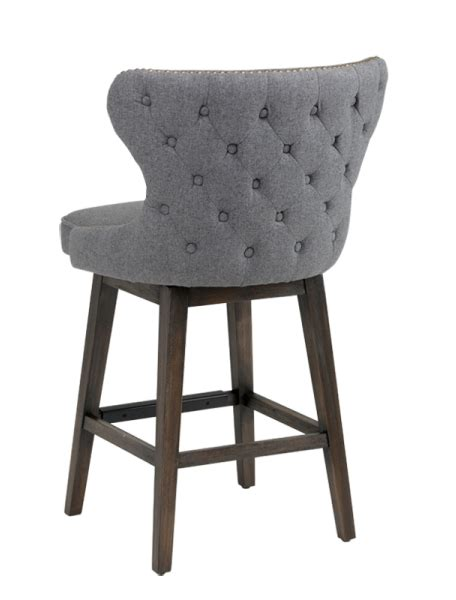 Tufted Bar Stool by Bar Stools Kitchen Counter Stools Sr 101186 Tufted
