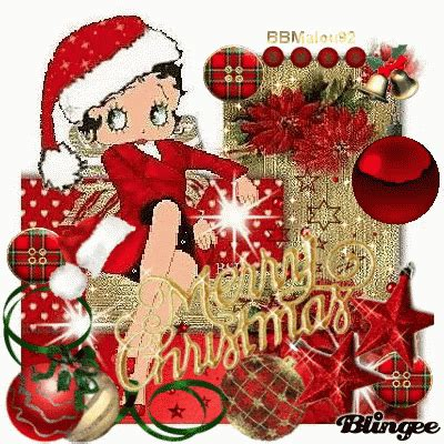 betty boop merry christmas pictures   images  facebook tumblr pinterest  twitter
