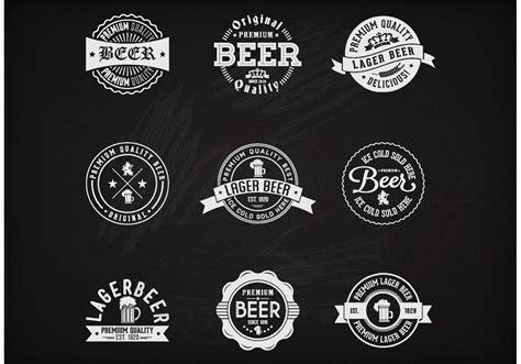 beer vector free vector chalk beer badges download free vector art